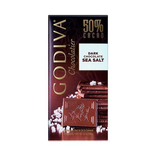 Godiva Tablet Dark Chocolate Sea Salt
