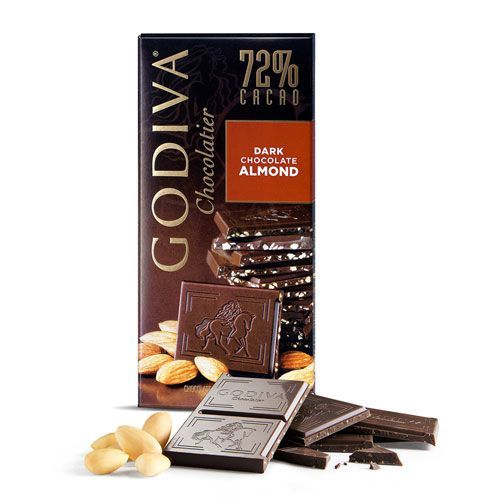 Dark Chocolate with Almonds Tablet