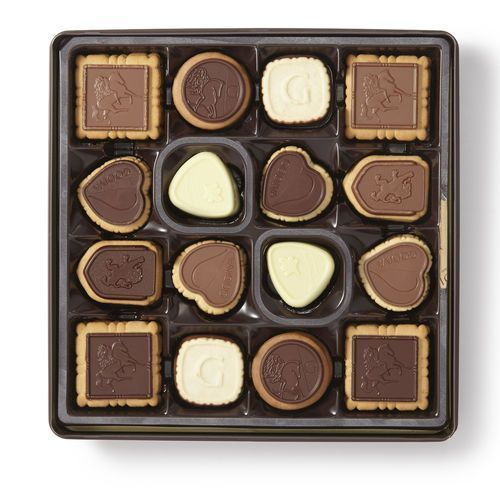 Godiva Biscuit Tin Assortment 46 pcs